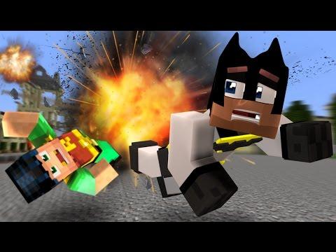Minecraft Hello Neighbor - The Neighbor DESTROYS our House (minecraft Roleplay)