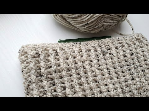 CROCHET INFINITY SCARF VERY EASY