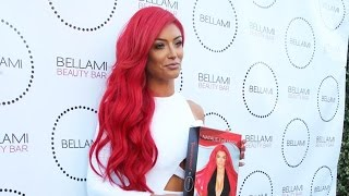 Natalie Eva Maire Gives Kylie Jenner A Run For Her Money Promoting Her Own Hair Extension Line