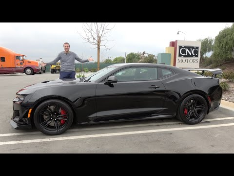 The Chevy Camaro ZL1 1LE Is The Camaro For The Track