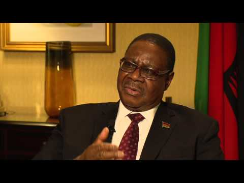 President Arthur Peter Mutharika Interview with Peter Clottey