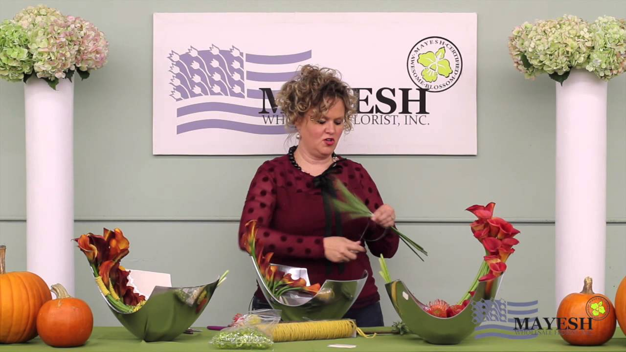 Floral Perspective Modern Thanksgiving Design With Jodi Duncan Aifd
