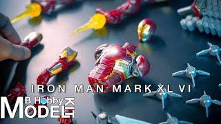 Morstorm Iron Man Mark 46 | Speed Build | Model Kit