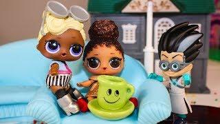 Мультики для детей Куклы ЛОЛ Ромео испортил День Рождения! Видео для детей LOL Dolls