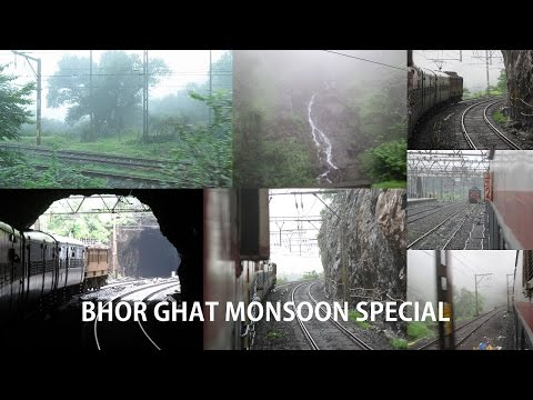 Journeys on IR: Through the Heavenly Bhor Ghats in the Superfast Intercity Express!!