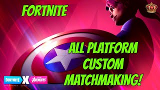 NAE Custom Matchmaking Fortnite (ALL PLATFORMS) (NO LAGGY SERVERS)
