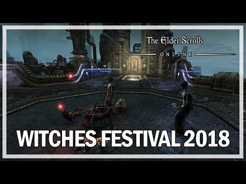 Witches Festival 2020 Eso The Elder Scrolls Online   Dremora Plunder Skulls   Witches