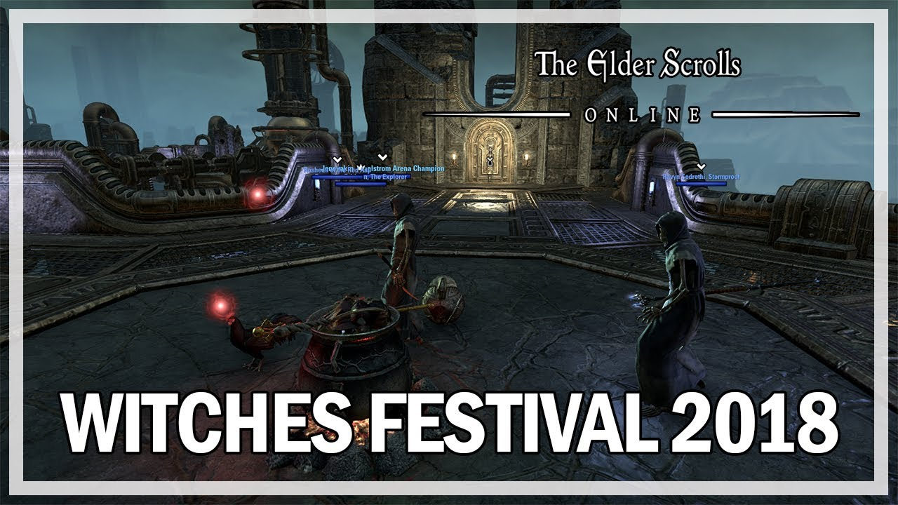 Eso Witches Festival 2020 The Elder Scrolls Online   Dremora Plunder Skulls   Witches