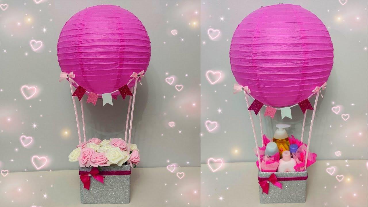 طريقة عمل ستاند بالونات لتزيين طاولة عيد ميلاد Balloon Centerpiece Diy Balloon Tutorial Youtube