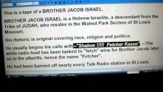 BROTHER JACOB on Black Politics, Black Activism..2:25 classic line12b