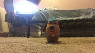 Gemmy animated four legged friend dog