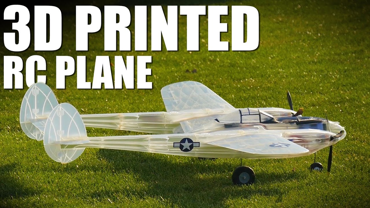3DLabPrint Optimizes 3D Printed RC Airplane Designs