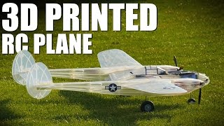 3D Printed Airplane - P 38 Lightning | Flite Test