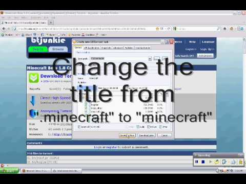 Minecraft 1.8 Free torrent download from YouTube · Duration:  1 minutes 57 seconds