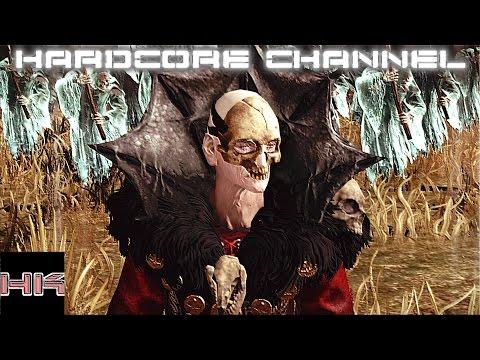 Total War Warhammer - прохождение Hardcore Вампиры =18= Погружение во мрак