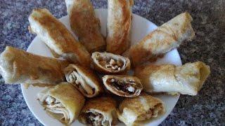 Быстрые закуски из лаваша