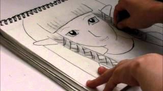 Skyward Sword Zelda Speed Drawing