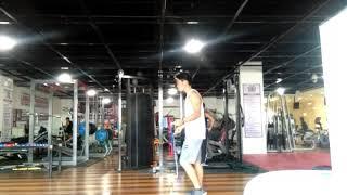 Just Playing around the gym!! #bardilleranz