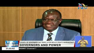 Valiler üç oluşturmak için katmanlı hükümet Raila teklifi reddetmek-