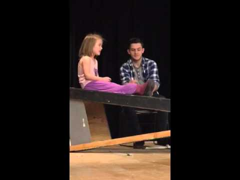 Sparhawk School - It's A Wonderful Life - Rehearsal George & ZuZu