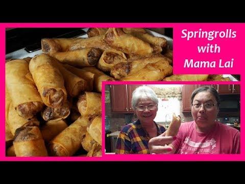 Thai Springrolls | Cooking With Mama Lai
