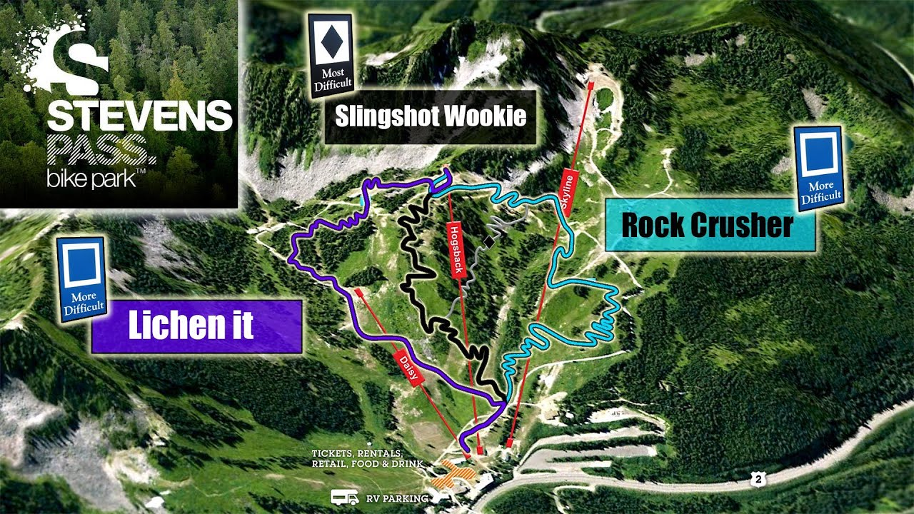 Interactive Trail Map Gopro 2012 Tour Of Stevens Pass Bike Park