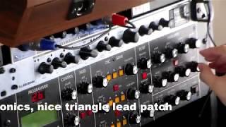 Analog Sequencing - MoogSub37, Prodyssey, SE Electronics MIDI sync