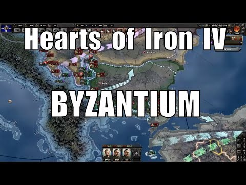 Hearts of Iron 4 Challenge: Greece retakes Byzantium
