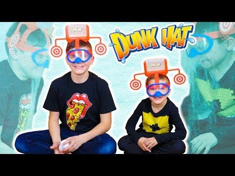 DUNK HAT CHALLENGE !!! - Swan VS Néo