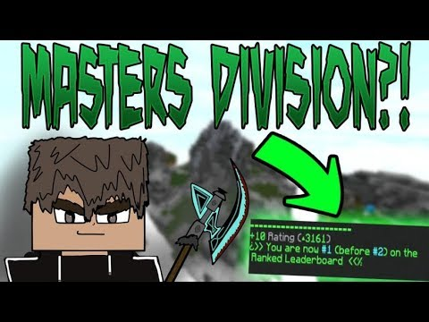 Destruction of Ranked Skywars v2 - Masters on Alternative Account (TONS of Hackusations)