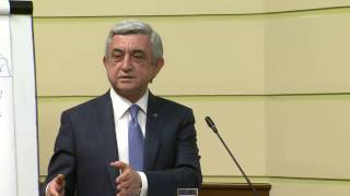 Սերժ Սարգսյանը թվարկել է, թե ինչ է պետք քաղաքականությամբ զբաղվելու համար
