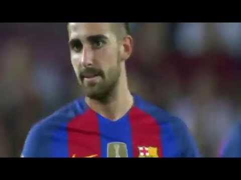 Paco Alcacer debut vs Deportivo Alaves 10/9/2016