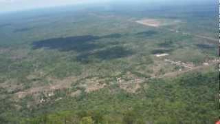 Preah Vihear  カンボジアの世界遺産プレアヴィヒアからの景色