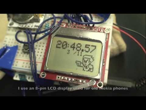 Instructables Arduino Alarm Clock Rtc Lcd