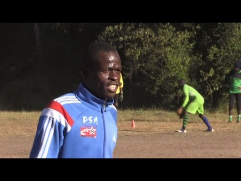 Kenya's slum football team kicks poverty to the curb