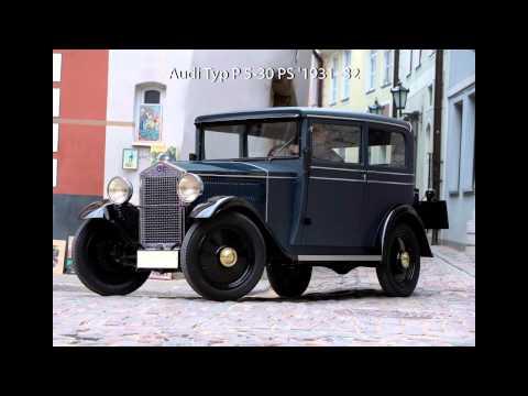 Retro Audi Cars