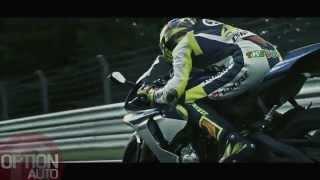 New Yamaha YZF-R1 with Valentino Rossi (Option Auto News)