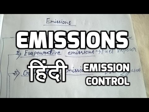 Automobile Hindi | Emissions in hindi