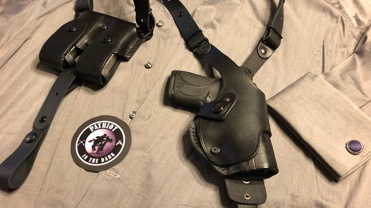Craft Holsters - Leather Vertical ROTO Shoulder Holster Pt 1 Unboxing/ First Impression * PITD