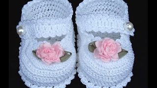 ПИНЕТКИ КРЮЧКОМ - уроки - 2019 / Booties CROCHET - Lessons / Booties Crochet - Lehren