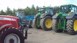 Selection Of Agricultural Tractors