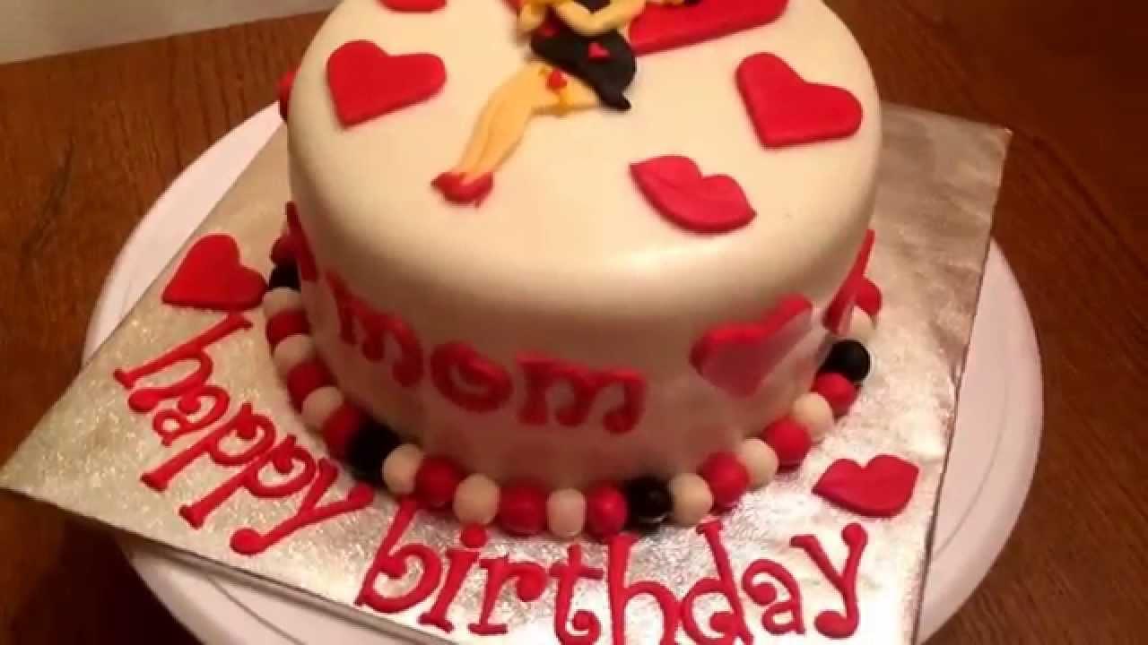Betty Boop Birthday Cake Youtube