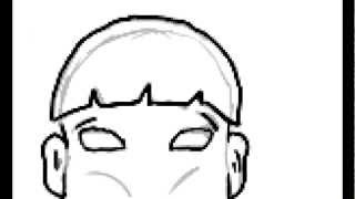 how to draw head 2 (fat boy)
