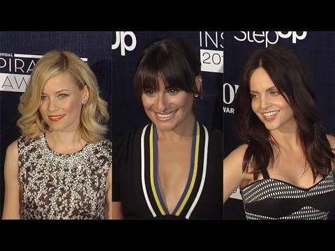 Lea Michele, Elizabeth Banks, Mena Suvari 12th Annual Inspiration Awards Arrivals