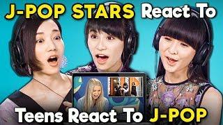J-pop Stars React To Teens React To J-pop (Perfume)