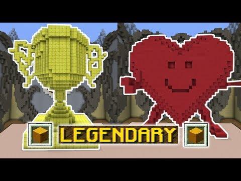 ONLY ONE BLOCK CHALLENGE! (Minecraft Build Battle)