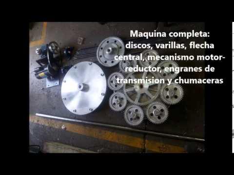 Maquina rosticero de le a youtube for Maquina de astillar lena