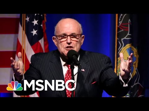 Rudy Giuliani, Two More Lawyers Join President Donald Trump Legal Team | MTP Daily | MSNBC