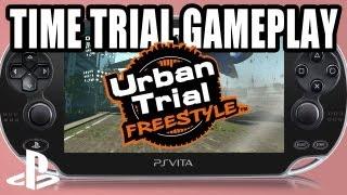 Urban Trial Freestyle PS VITA gameplay - Lost Avenue, Losing Control