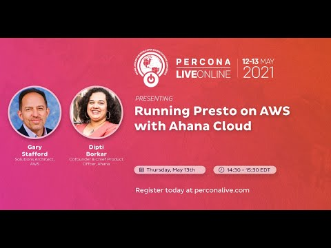 Running Presto on AWS With Ahana Cloud